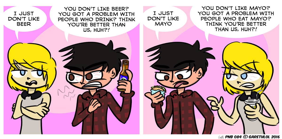Beer / Mayonnaise is awesome / disgusting!