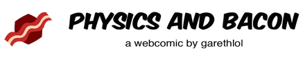 Physics and Bacon Site Logo